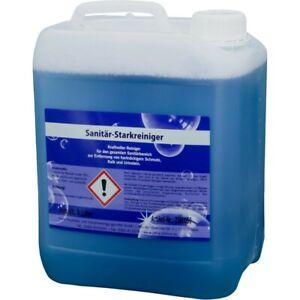 Sanitär-Starkreiniger, Badreiniger, umweltfreundlich, 5 Liter Kanister