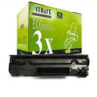 3x MWT ECO Toner ersetzt HP CE285A 85A