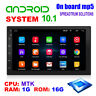 "7 "" Android 10.1 Autoradio GPS Navi Di Wifi Bluetooth USB MP5 2DIN Fm Player 1+"