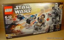 LEGO STAR WARS Microfighters Ski Speeder+ First Order AT-AT Walker Set 75195 New