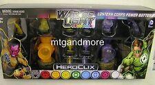 HeroClix War of Light Orange and Indigo Lantern Corps Power Batteries Pack