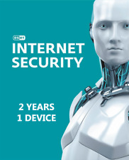 ESET NOD32 INTERNET SECURITY - 2 YEARS 1 DEVICE - GLOBAL LICENSE ACTIVATION KEY