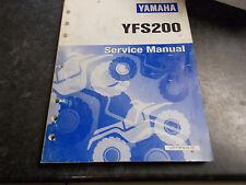 1988 YAMAHA YFS200 Blaster Quad véritable atelier propriétaires service manual
