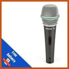 Samson Q4 super cardioide Vocal Microfono Dinamico con Custodia, Mic Clip & XLR Lead