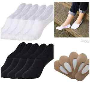Womens Invisible Trainer socks Footsies No Shoe Show Liner Socks Ladies Thin