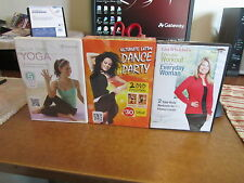 3 NEW EXERCISE DVD'S LISA WHELCHELS EVERYDAY WORKOUT, LATIN DANCE, QUICK YOGA