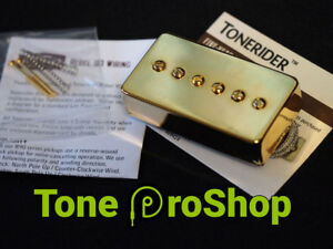 Tonerider Rebel 90 Neck Pickup Gold