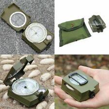 BW Bundeswehr Armeekompass mit Etui Oliv, Kompass Marschkompass Metallgehäuse 1