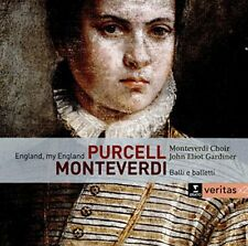 John Eliot Gardiner - Monterverdi  Balli e Baletti  England my England [CD]