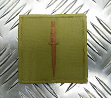 Genuine British Army ROYAL MARINES COMMANDO - Dagger Patch / Badge - NEW