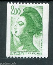FRANCE 1987, timbre 2487, LIBERTE ROULETTE, neuf**, VF MNH STAMP