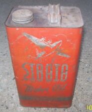 Original STRATA 5 Quart Motor Oil Can Philadelphia Penn