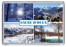 SAUZE D'OULX, Ski resort Italy Fridge Magnet