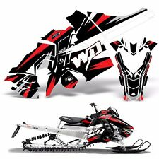 Sled Wrap for Polaris AXYS Graphic Kit Stickers Snowmobile Parts SKS Pro RMK WD