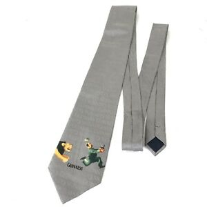Guiness Beer Mens Neck Tie Silk Zookeeper Lion Official Licensed Merchandise
