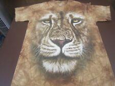 The Mountain Lion Warrior Face Head  Medium  T-Shirt PRINT IN USA   H0