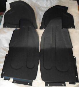 JAGUAR XJ-S/XJS SPLASH PANELS ,STONE GUARDS SET OF  4 front wing panels NEW