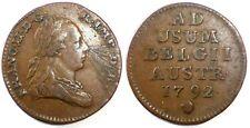 PAYS-BAS AUTRICHIENS - François II - Liard 1792 Bruxelles (Satirique ?)