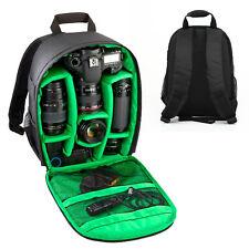 Camera Backpack Bag Waterproof Lens Case Rucksack For DSLR Canon EOS Nikon New