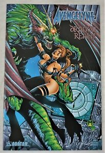 AVENGELYNE Dragon Realm #2 AUG 2001 Marat Mychaels Variant Avatar Press NM