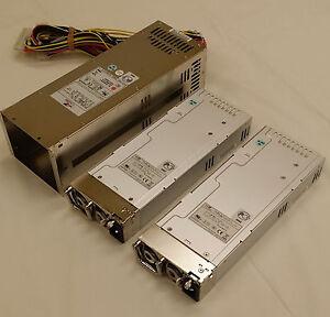 NEW EMACS Power Supply Housing w/ Redundant PSU R2W-6460P-R 460W 100-240V Input