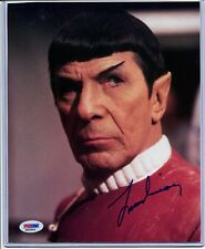 Leonard Nimoy Mr. Spock Signed 8x10 Photo PSA/DNA Autograph Star Trek M65899