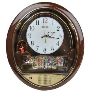 SEIKO Revolving Figurines - Melodies In Motion Musical Wall Clock  - Works