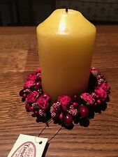 French Comptoir de Famille Candle Wreath
