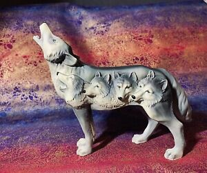 Call Of The Wolf Figurine - Four Wolves - Westland Giftware WG-14134
