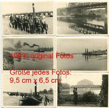 11x Fotos , Polen , Breslau , Wrocław , Schiffe , Hafen