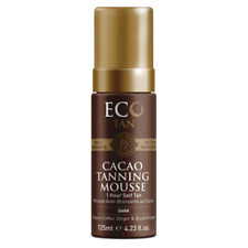 Eco Tan Organic Cacao Self Tanning Firming Mousse (Face & Body)  Full Size 125mL