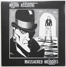 Major Accident - Massacred Melodies LP ITALY PRESS Adicts Blitz Violators Punk