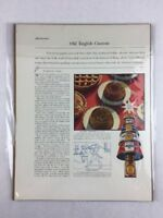 Vintage Heinz Date Pudding Mince Meat Food Art Print Collectible Ad 11 x 14
