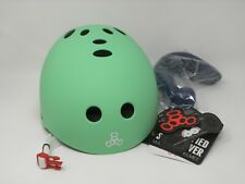 Triple Eight Sweatsaver Multi Sport Helmet Mint Green S/M Skate Protective Gear