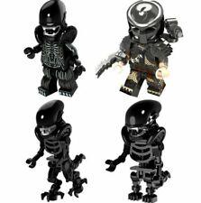 Custom Mini Figure Predator Alien vs Predator Hero AVP Minifigures