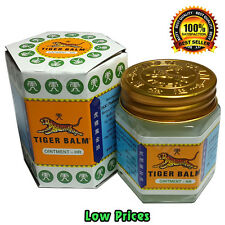 1 x 30G TIGER BALM HERBAL WHITE OINTMENT MASSAGE RELIEF MUSCLE Aches & Pains A++