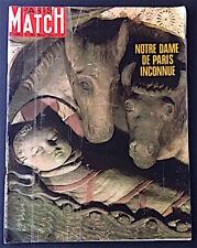 PARIS MATCH 1024 déc 1968 - Notre Dame de Paris, Nixon, Berlin, Jacques Brel...
