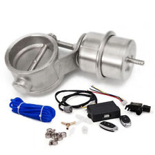 51mm Closed Vacuum Exhaust Cutout Valve 2'' with Wireless Remote Controller Set