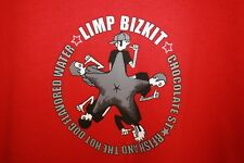 Deadstock LIMP BIZKIT unworn vtg band CHOCOLATE STARFISH album t-shirt mens XL