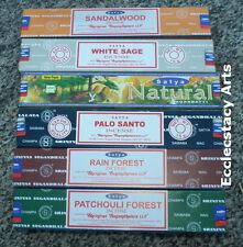 Satya Nag Champa Incense Sticks Sampler Best Seller Set #7- 6 x 15 gram 90 total