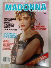 MADONNA & Other Rock Stars 1985 Double Fun Magazine VF RARE HTF Exclusive Pics!!