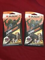 Magic The Gathering Jumpstart Booster Pack Lot Of 2 Sealed *IN HAND*