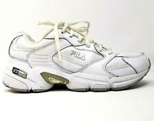 Fila Dls Lite womens sneakers size 6.5 white shoes fitness exercise comfort euc
