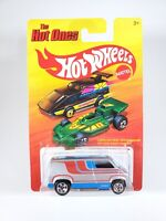 Hot Wheels The Hot Ones Custom '77 Dodge Van Diecast 1:64 NEW NOC with Protector