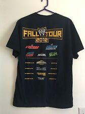 WWE Fall Tour 2012 Hell Raw Smack Down Main Event Wwf Wrestling XL Shirt Crew