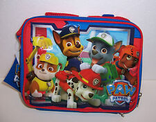 Nickelodeon Paw Patrol Insulated Lunch Bag Lunchbag Box Case Tote New!