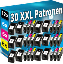 30x Inchiostro Cartucce per HP 934xl+935xl Officejet Pro 6230 6820 6830 C all-in-One