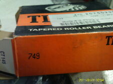 TIMKEN TAPERED ROLLER BEARINGS 749 CONE