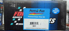 BRAND NEW FDP PARKING BRAKE SHOES 931 FITS 99-02 PROWLER