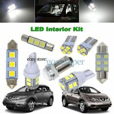9x white LED light Map Dome interior Bulb package kit fit fit 2011-2014 Murano